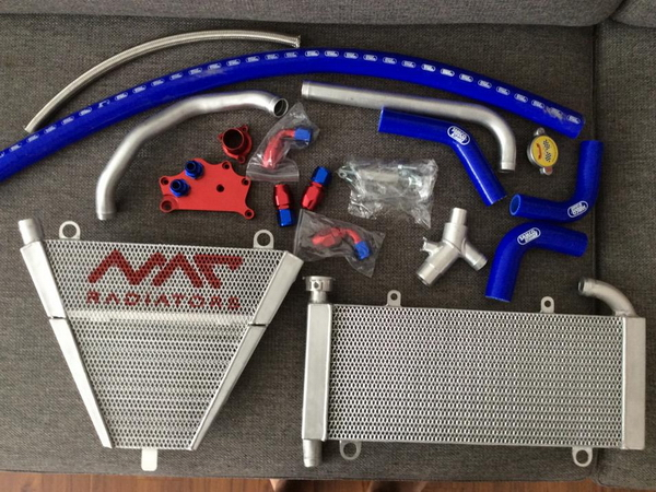 Upper 35mm radiator + lower radiator