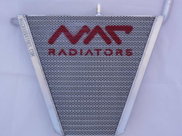 R6 racing radiator