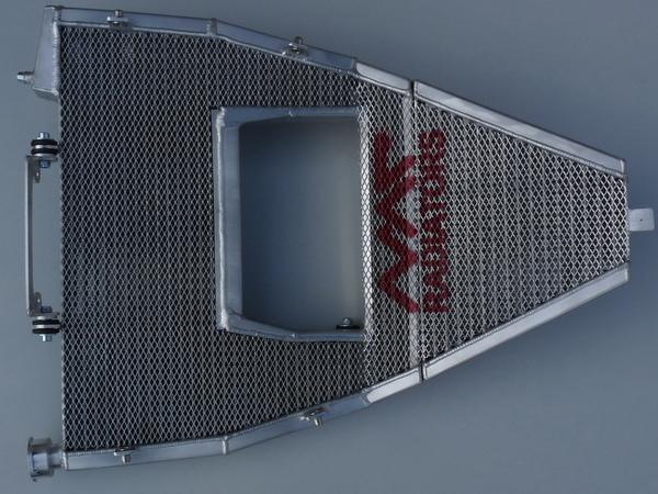 Full WSBK radiator