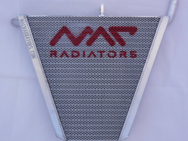 R6 08-16 racing radiator