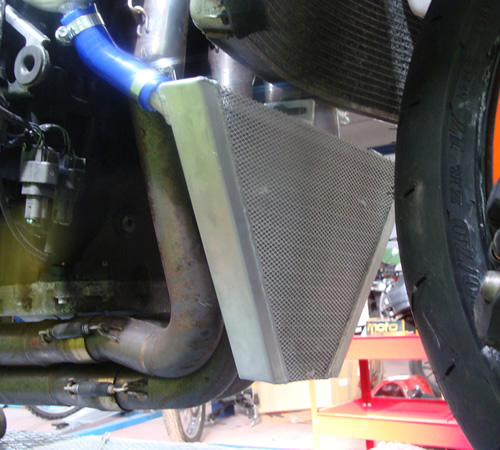 ZX6R 07-08 racing radiator